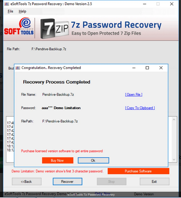 How to recover the password of 7zip file? - eSoftTools