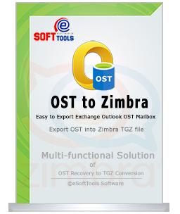 OST to Zimbra Converter