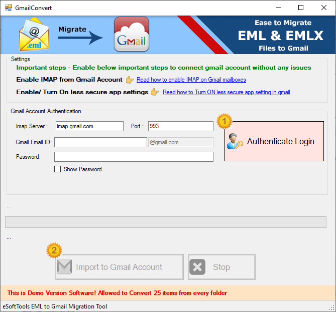 eml to gmail converter