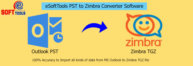 pst to zimbra converter software
