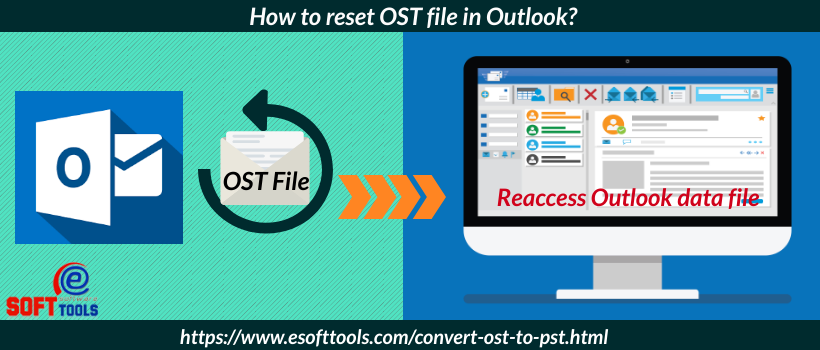 How to reset OST file in Outlook