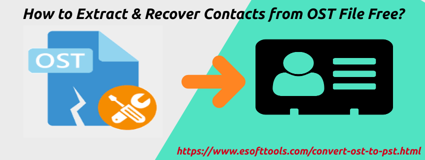 Recover Contacts from OST File Free