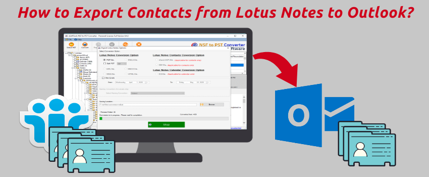 How to Export Contacts from Lotus Notes to Outlook