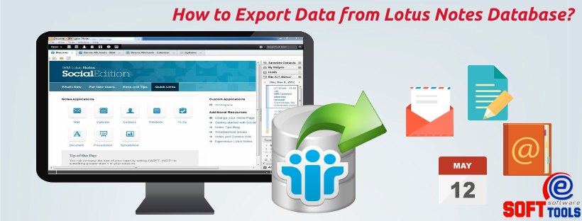 How to Export Data from Lotus Notes Database?