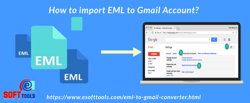 How to import EML to Gmail Account