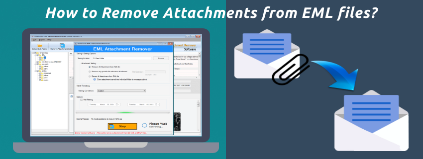 How to Remove Attachments from EML files