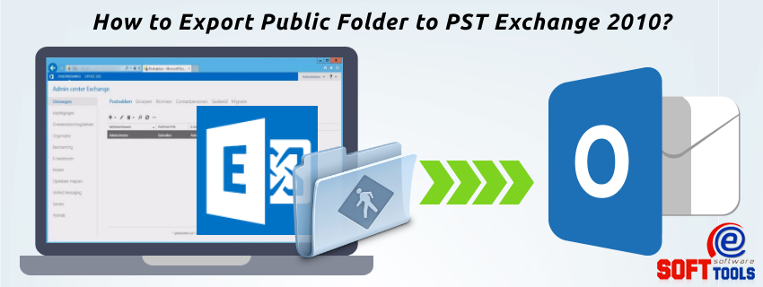 How to Export Public Folder to PST Exchange 2010