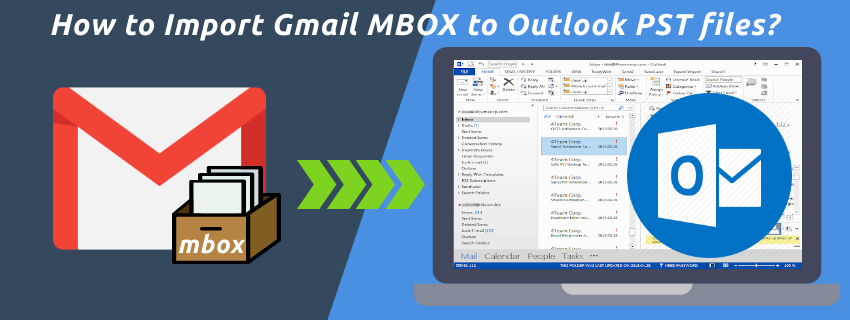 How to Import Gmail MBOX to Outlook PST