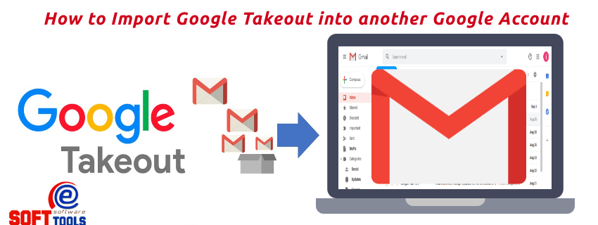 How to Import Google Takeout into another Google Account