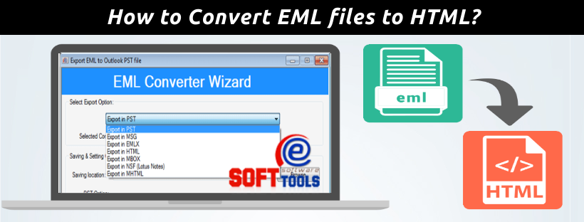 How to Convert EML files to HTML