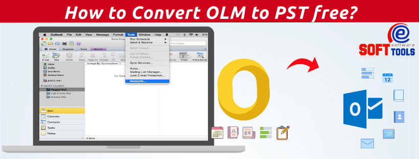 How to Convert OLM to PST free