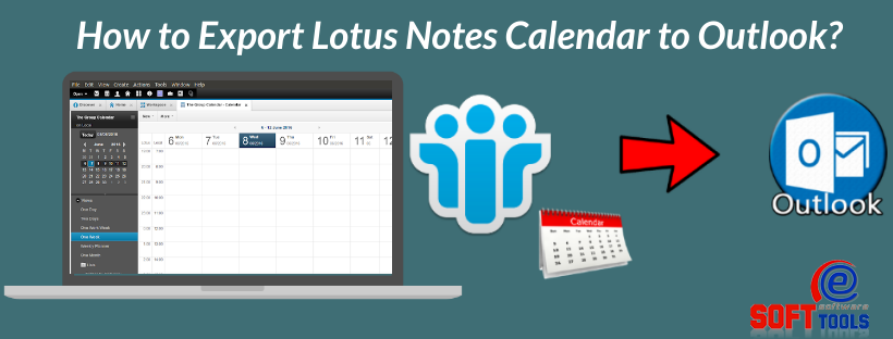 How toExport Lotus Notes Calendar to Outlook
