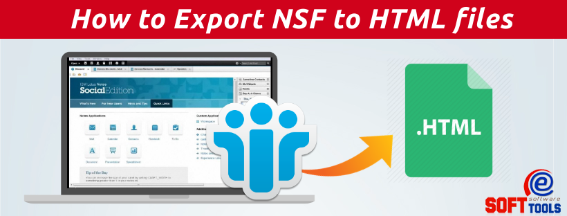 How to Export NSF to HTML files