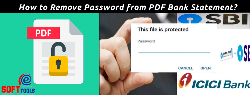 How to Remove Password from PDF Bank Statement