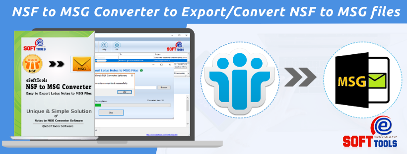 convert nsf to msg files