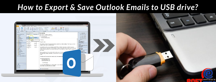 export & save outlook emails to usb drive