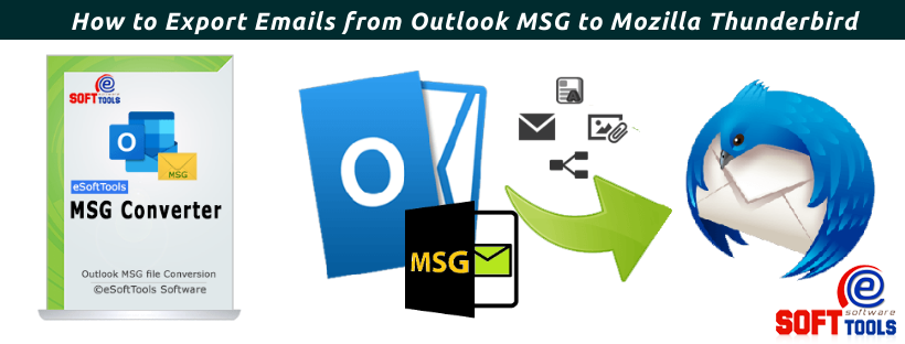 How toExport Emails from Outlook MSG to Mozilla Thunderbird