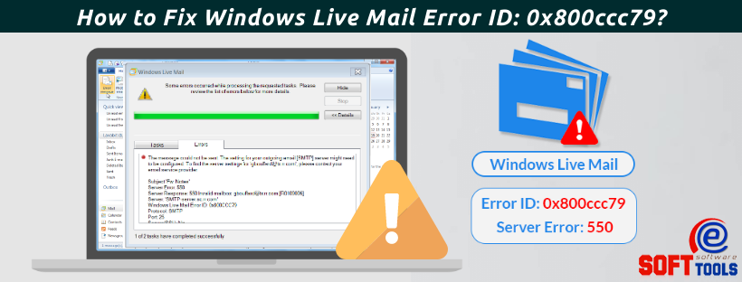How to Fix Windows Live Mail Error ID 0x800ccc79