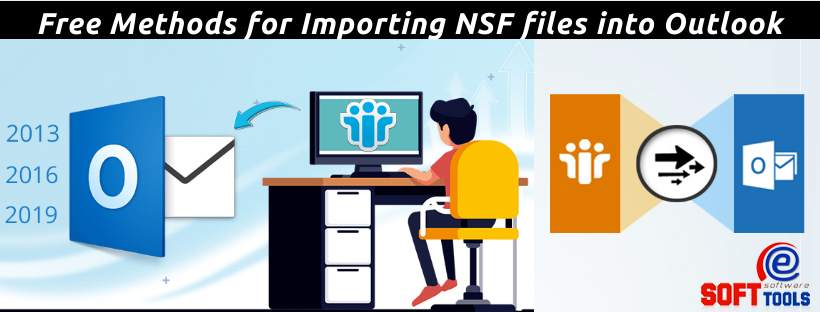 Importing NSF files into Outlook