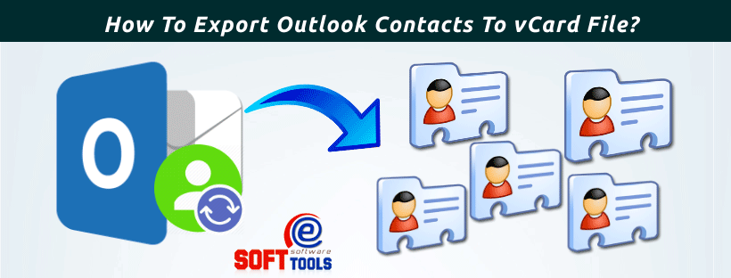How To Export Outlook Contacts To vCard File?