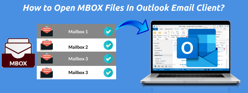 How to Open MBOX Files In Outlook Email Client