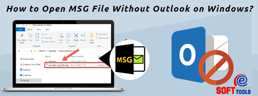 How to Open MSG File Without Outlook on Windows