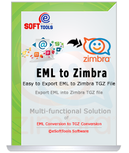 Download EML to Zimbra Recovery Tool to know about works
