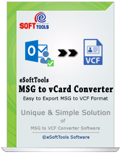 msg to vcard converter software