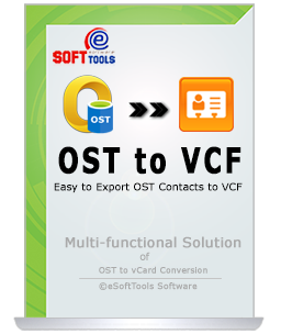 OST to vCard Converter used for Conversion OST Contacts to