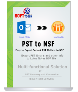 Export PST to NSF