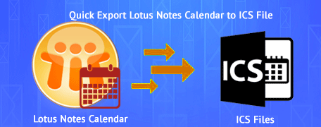 Convert Lotus Notes Calendar to ICS file