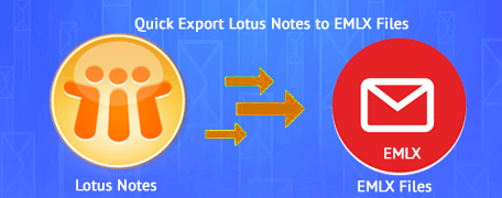 convert lotus notes to emlx file