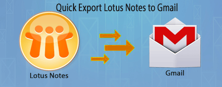 Convert Lotus Notes to Gmail Conversion