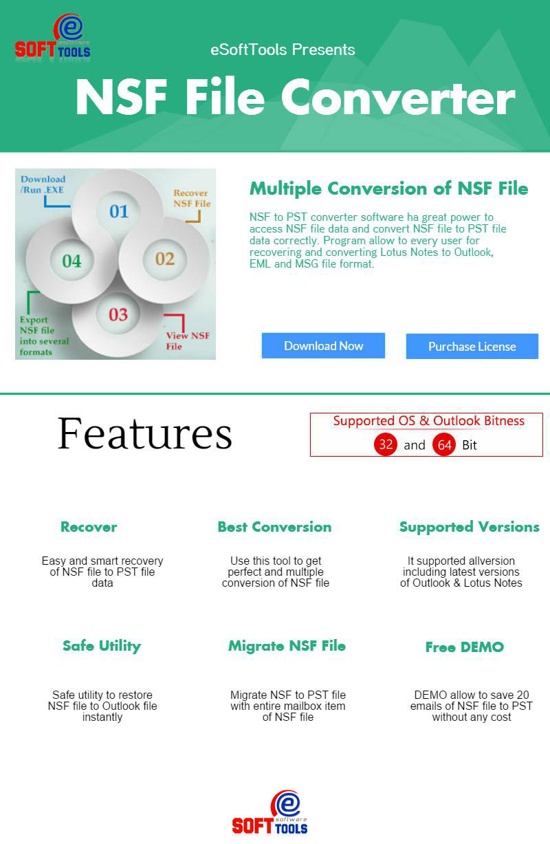 NSF to PST Converter to Convert Lotus Notes Files to PST