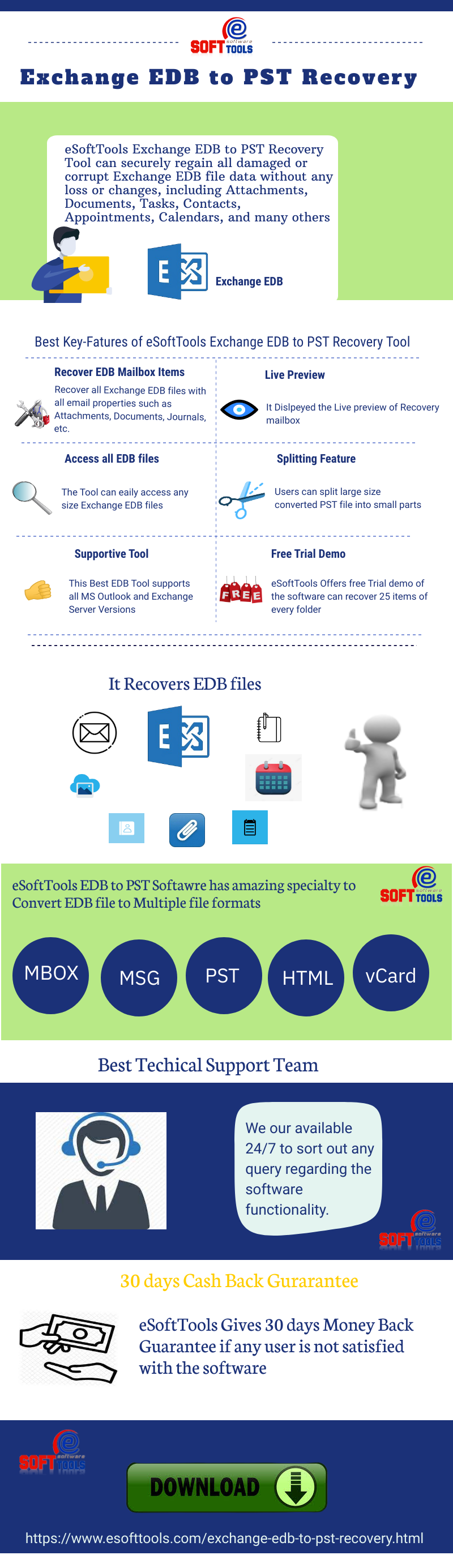How to convert EDB to Outlook PST file format