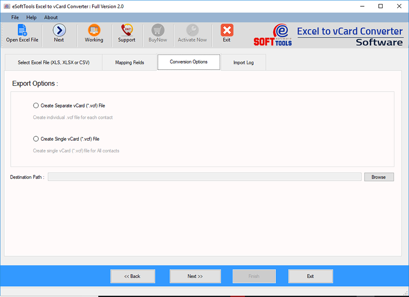 convert text file to vcard online