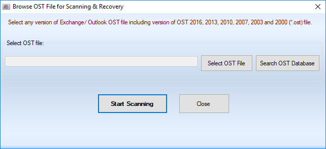 Convert OST to Outlook